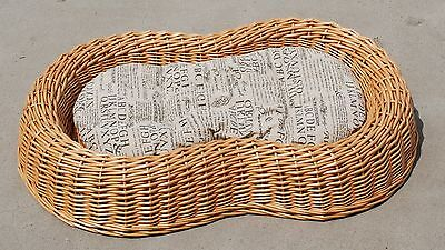 Dog Bed Pet Bed With cushion Wicker Pet Basket Special Dog Puppy Bed Pet Supplie