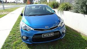 2014 KIA 2 Door Coupe Turbo with Option Pack, Auto, Abyss Blue Gungahlin Gungahlin Area Preview