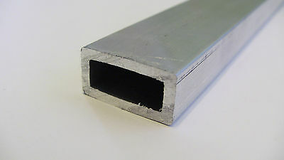 Aluminum Architectural Rectangle Tube .093 X .5 X 1 X 48 In. 6063 Uaac 2pcs