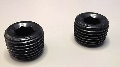 12 Npt Thread Allen Socket Pipe Pressure Plug 2 Each