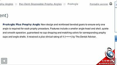 Disposable Prophy Angles Firm Cup 248-500