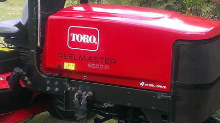Toro 6500D Realmaster 4wd