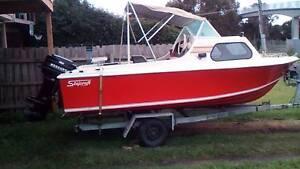 16 ft Half Cabin Motorboat Dromana Mornington Peninsula Preview