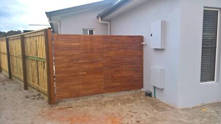 FENCES GATES AND RETAINING WALLS