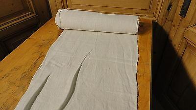 Homespun Linen Hemp/Flax Yardage 8 Yards x 18'' Plain  #4727