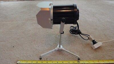 Miniature movie set desk light, table lamp. Nice!