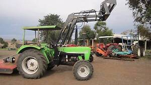 Deutz Fahr D6507 4wd with 4 in 1 loader Balliang East Moorabool Area Preview