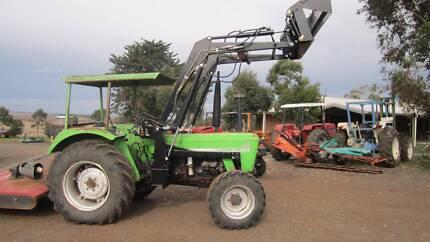 Deutz Fahr D6507 4wd with 4 in 1 loader