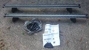 Whispbar HD T17W Through Bar Roof Rack plus K328 Fitting Kit Ryde Ryde Area Preview