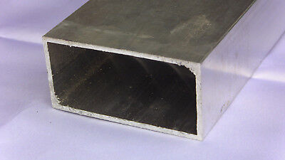 Aluminum Architectural Rectangle Tube .125 X 2 X 4 X 48 In. 6063 Uaac