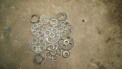Atlas Craftsman Lathe Misc Quick Change Gears.lot Of 12