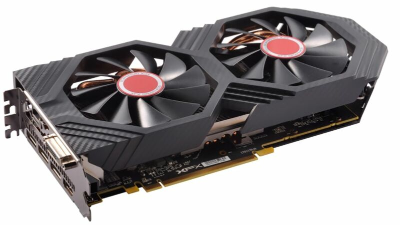 XFX - AMD Radeon RX 580 GTS XXX Edition 8GB GDDR5 PCI Express 3.0 Graphics Card