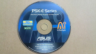 ASUS Drivers Installation Disk M1278 For P5K-E Series Motherboard