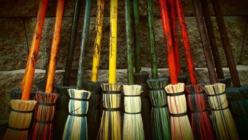 Witch Broom Wizard Wiccan Halloween Decor wizard school broom Besom Broom Fall
