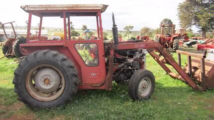Massey Ferguson 240 with front loader