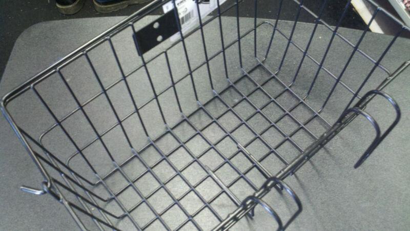 Sunlite Lift Off Cruiser Commuter Bicycle Basket 14.5 x 8.5 x 7quick mount Black