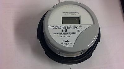 Itron Kilowatthour Meter Standard Residential 240 Volt Centron 60 Hz