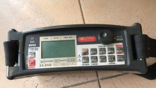 Rover Master STC  SAT PROFESSIONAL dvbs2  METER