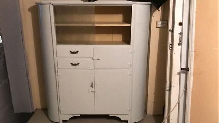 vintage reto art deco 1940 kitchen cabinet pantry in ashfield 2131 nsw   cabinets   gumtree australia free      rh   gumtree com au