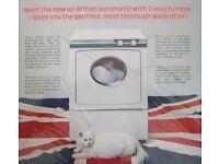 WANTED: Vintage English Electric Reversomatic or Liberator Washing Machines