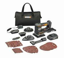 WORX WX820L 20V Powershare Sandeck 5-in-1 Multi-Sander w/ Hyperlock Clamp