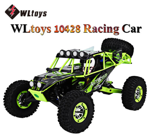 Wltoys 10428 2.4g 1:10scale Rc Car High Speed Off-road Racing Wild Track Eu Plug 4