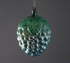Grape Cluster Blown Glass Christmas Ornament, Grapes, ca ...