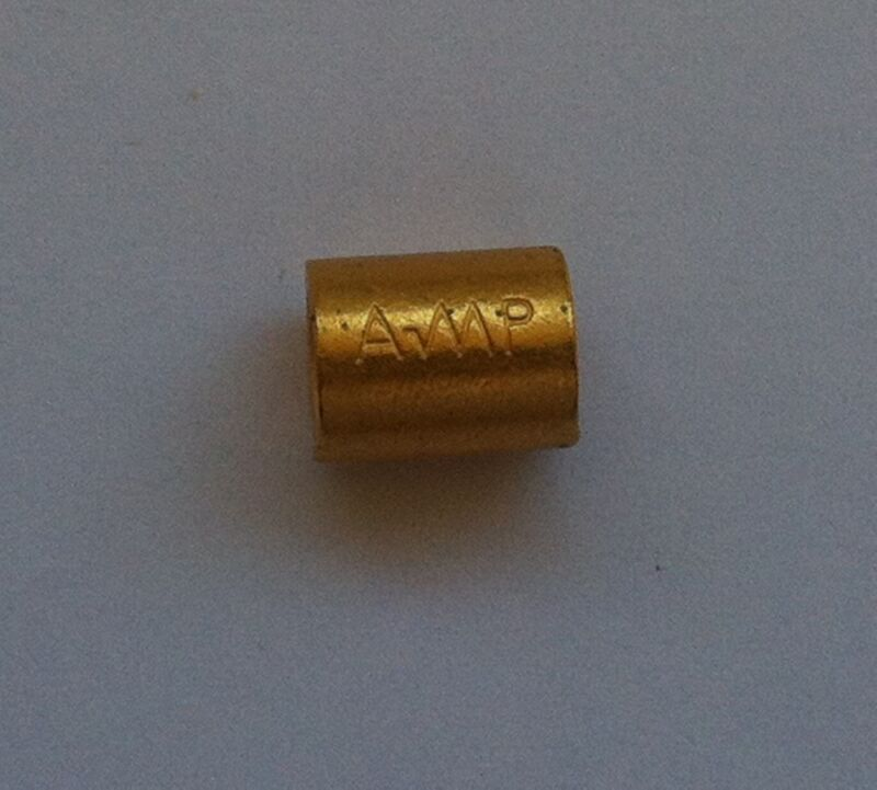 AMP PARRALEL SPLICES 8 AWG GOLD PLATED (100 PCS)