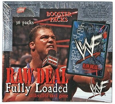 Comic Images WWE WWF Raw Deal Fully Loaded Wrestling Booster Box