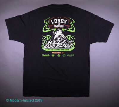 Authentic Vintage LORDS CAR CLUB  T-Shirt  Riverside CA Halloween Car Show Event