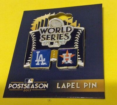 LOS ANGELES DODGERS VS HOUSTON ASTROS MLB 2017 WORLD SERIES HEAD TO HEAD PIN
