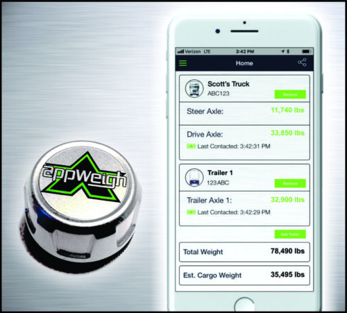AppWeigh Bluetooth Onboard Truck Scale & Free App
