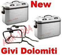 Set Suitcases Givi Dlm36a Dolomiti Honda Nc700 750 2014-2015 Pl1111 Trekker + - givi - kappa - ebay.co.uk