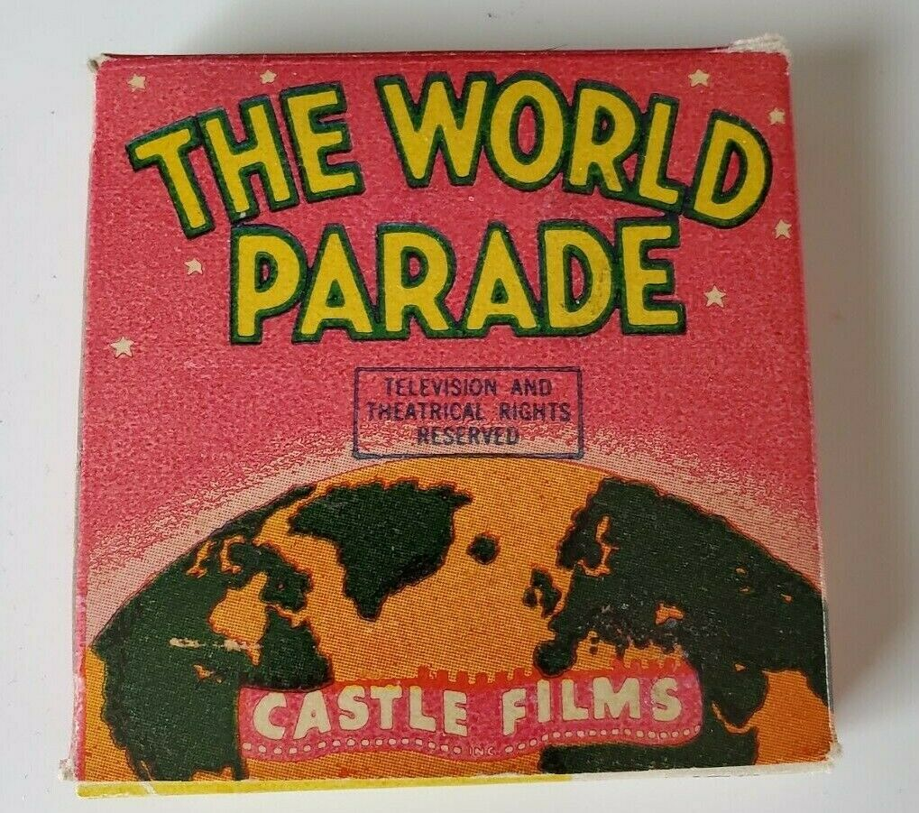 2 Castle Films 8mm Reels - Midget Car Maniacs So Pacific Horizons - 818/252 - $7.00