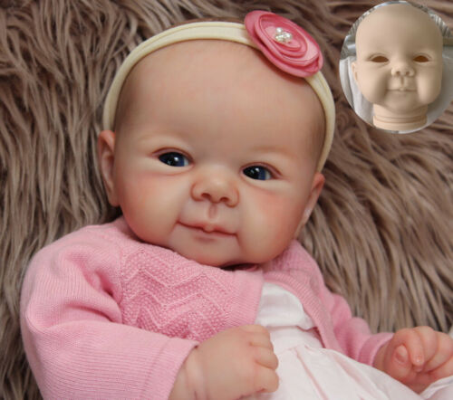 Kit Reborn Baby Doll Unpainted Parts For 19