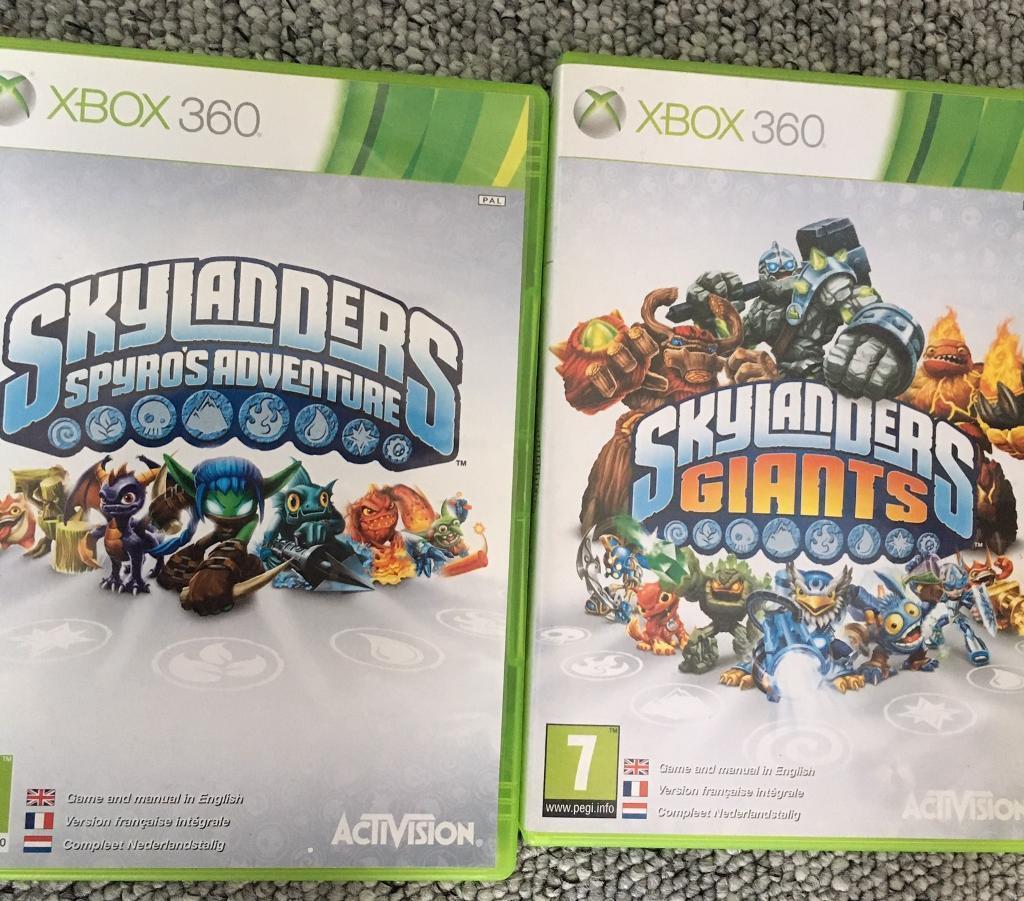 X Box 360 Skylanders Games