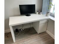MALM desk from IKEA