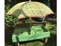Step 2 Sand & Water Table with Parasol and Lid