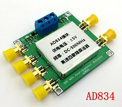 Ad834 Dc-500mhz 4-quadrant Multiplier Module Frequency Mixingbroadband Modem