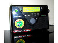 Roberts Radios UNOLOGIC DAB/FM Digital Radio in Black