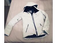 White Women's Ski Jacket (Salomon)