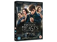 Fantastic Beasts And Where To Find Them DVD (2016)