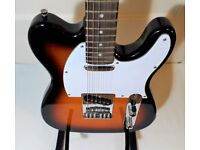 ELECTRIC GUITAR & PRACTICE AMP FENDER TELECASTER COPY BY STEWART+ HIWATT AMPEXCELLENT CONDITION