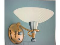 Franklite Asti Uplighter Wall Lights BNIB x2