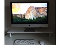 "Apple iMac Late 2015 - 27"" with Retina 5K Display, 3.2GHz Intel i5, 32GB RAM, 256GB SSD + Apple Care"