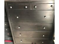 CHESTS OF DRAWERS (2 ITEMS)