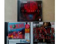 Selection of pc games and music