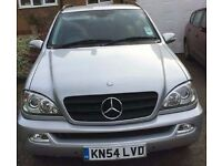 2004/54 Mercedes ML270 CDI Automatic, 97k miles only