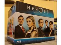 Heroes complete boxset blu ray