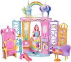 *Barbie - Dreamtopia - Kasteel met Pop  21-delig